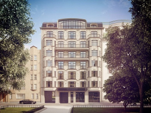 Клубный дом «Булгаков» у м.Маяковская