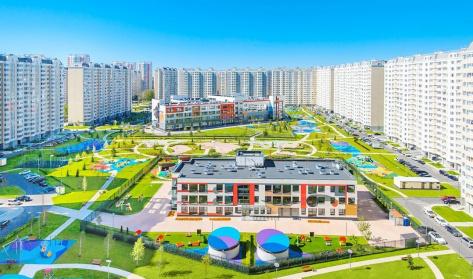 """Город-парк """"Первый Московский"""""""