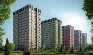 Комплекс апартаментов «ТехноПарк» в ЮАО Москвы