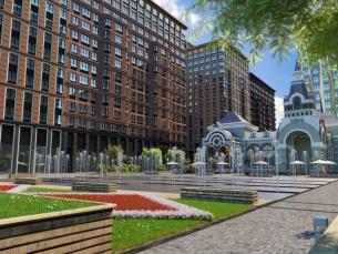 Царская площадь (Royal Plaza) в САО Москвы