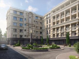 Апартотель на проспекте Вернадского, вл. 4 в районе Раменки