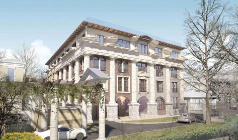 Palazzo Imperiale в районе Замоскворечье