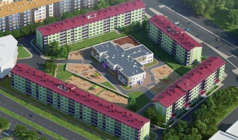 Образцовый квартал 2 в районе Пушкинский