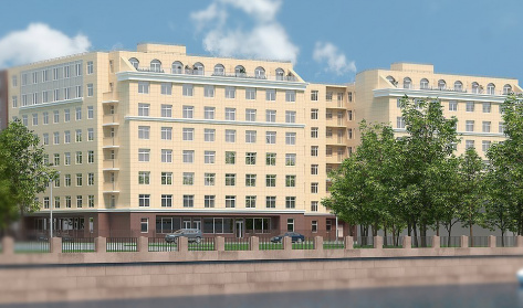 Елагин апарт в районе Приморский