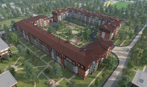 Царский двор в районе Пушкинский